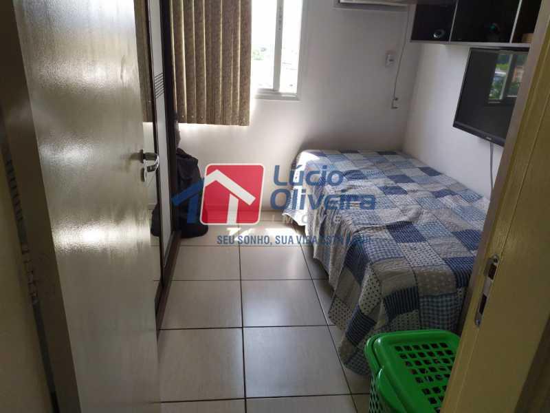 Quarto 2. - Apartamento à venda Rua Cerqueira Daltro,Cascadura, Rio de Janeiro - R$ 265.000 - VPAP21656 - 17