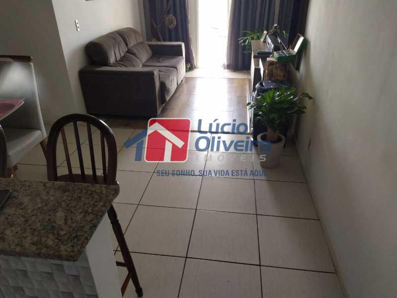 Sala... - Apartamento à venda Rua Cerqueira Daltro,Cascadura, Rio de Janeiro - R$ 265.000 - VPAP21656 - 4
