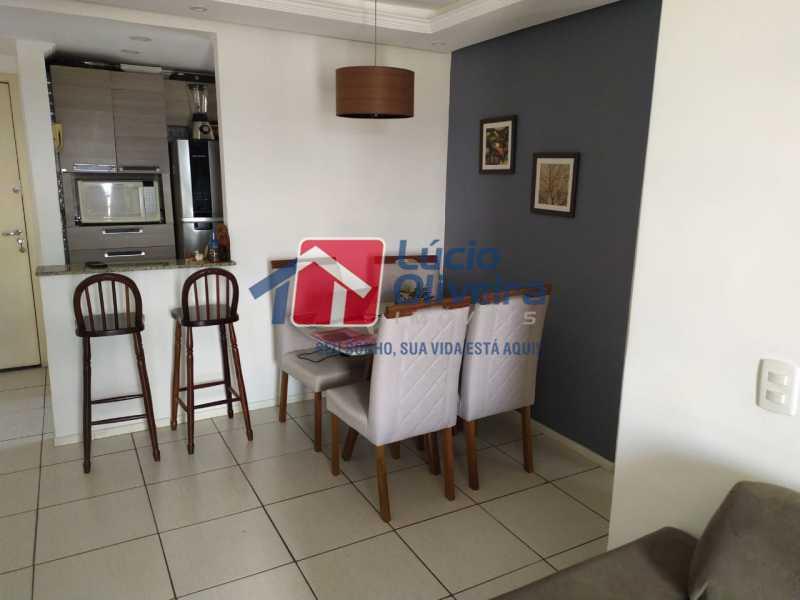 Sala. - Apartamento à venda Rua Cerqueira Daltro,Cascadura, Rio de Janeiro - R$ 265.000 - VPAP21656 - 6