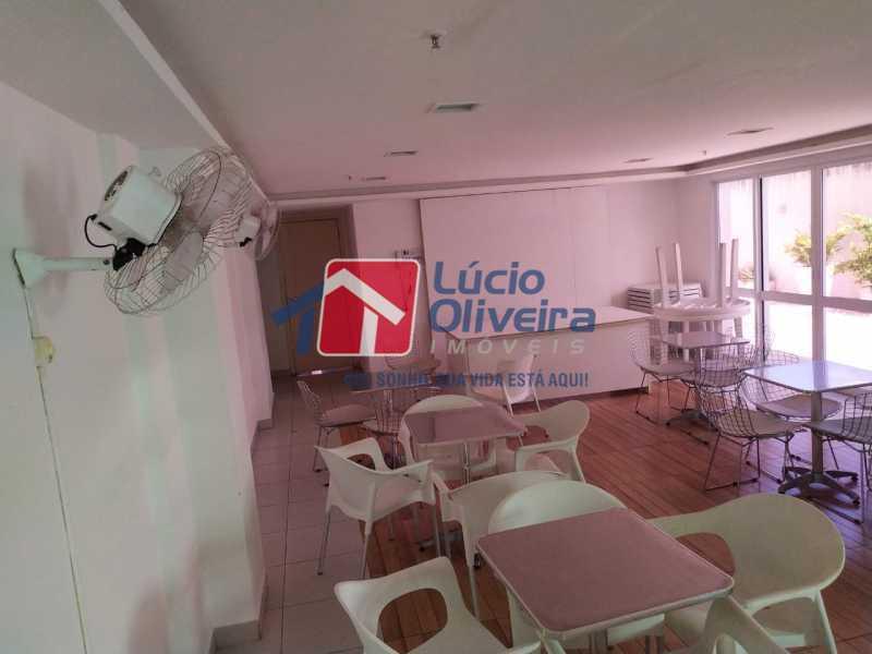 Salão festas infantil - Apartamento à venda Rua Cerqueira Daltro,Cascadura, Rio de Janeiro - R$ 265.000 - VPAP21656 - 29
