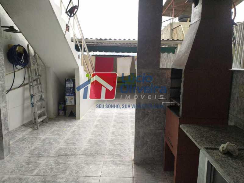 Área gourmet. - Casa à venda Rua Cônego Boucher Pinto,Honório Gurgel, Rio de Janeiro - R$ 220.000 - VPCA20312 - 23