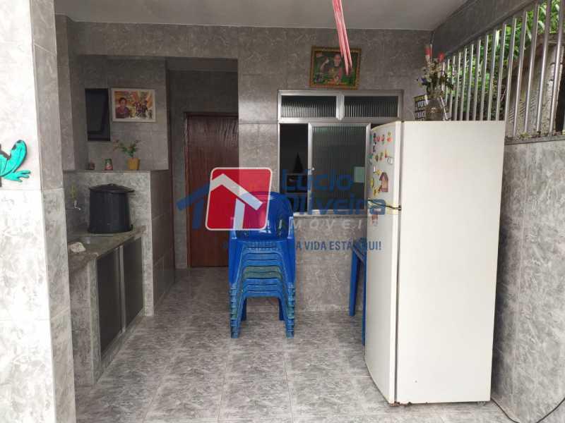 Área gourmet - Casa à venda Rua Cônego Boucher Pinto,Honório Gurgel, Rio de Janeiro - R$ 220.000 - VPCA20312 - 24
