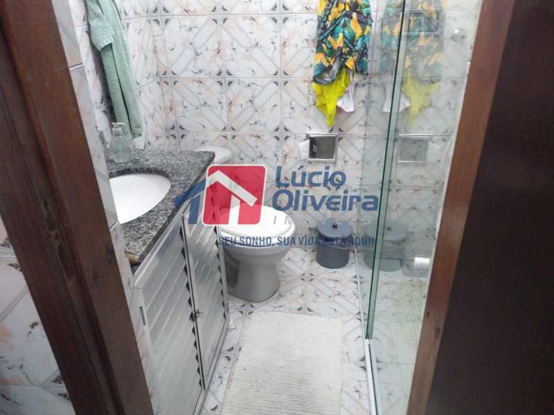 Banheiro social. - Casa à venda Rua Cônego Boucher Pinto,Honório Gurgel, Rio de Janeiro - R$ 220.000 - VPCA20312 - 10