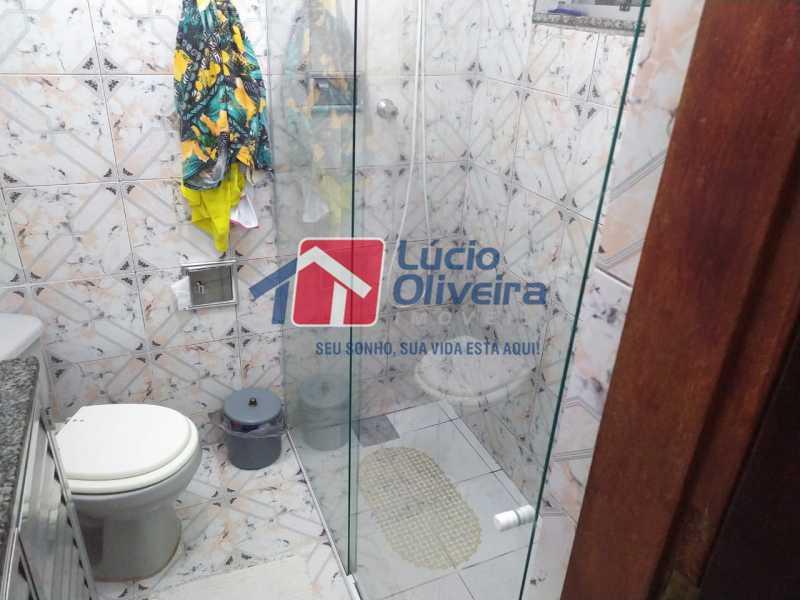 Banheiro social - Casa à venda Rua Cônego Boucher Pinto,Honório Gurgel, Rio de Janeiro - R$ 220.000 - VPCA20312 - 11