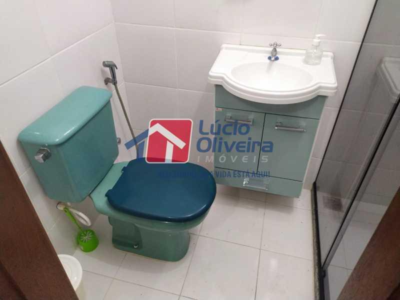 Banheiro suite. - Casa à venda Rua Cônego Boucher Pinto,Honório Gurgel, Rio de Janeiro - R$ 220.000 - VPCA20312 - 21