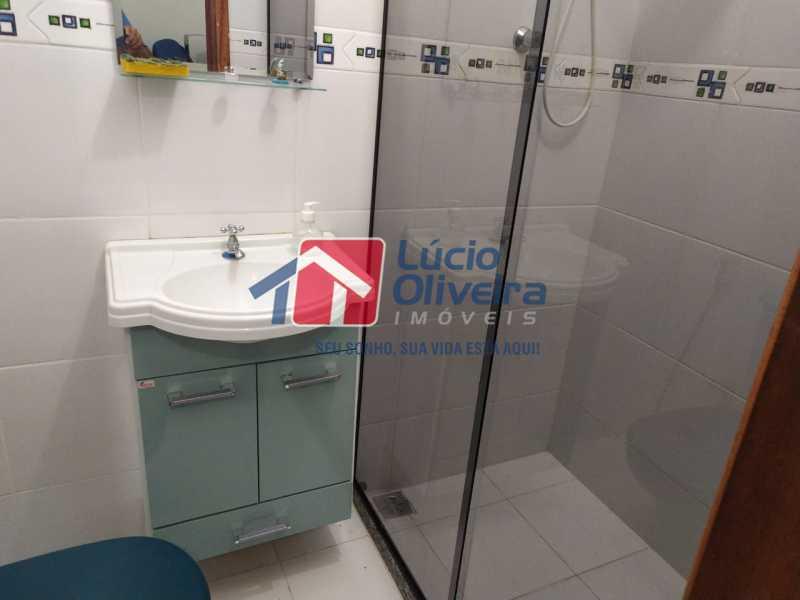Banheiro suite - Casa à venda Rua Cônego Boucher Pinto,Honório Gurgel, Rio de Janeiro - R$ 220.000 - VPCA20312 - 22