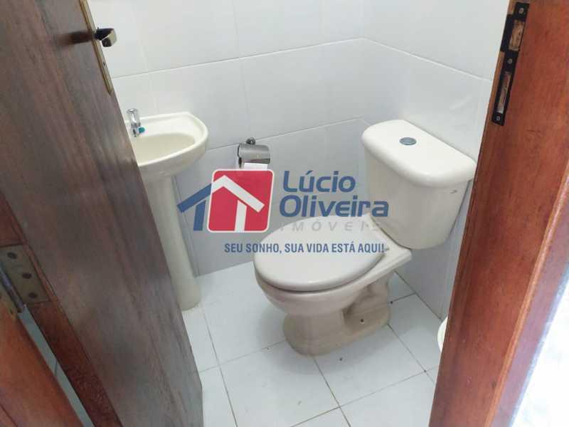 Lavabo terraço.. - Casa à venda Rua Cônego Boucher Pinto,Honório Gurgel, Rio de Janeiro - R$ 220.000 - VPCA20312 - 25