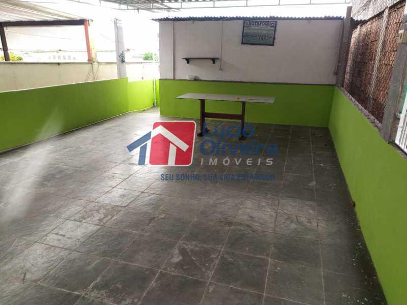 Terraço coberto - Casa à venda Rua Cônego Boucher Pinto,Honório Gurgel, Rio de Janeiro - R$ 220.000 - VPCA20312 - 28