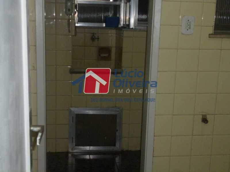 Àrea de serviço - Apartamento à venda Rua Vilela Tavares,Méier, Rio de Janeiro - R$ 270.000 - VPAP21662 - 13