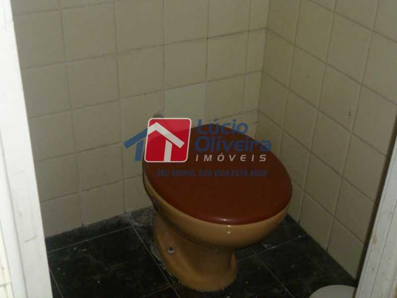 Banheiro de empregada - Apartamento à venda Rua Vilela Tavares,Méier, Rio de Janeiro - R$ 270.000 - VPAP21662 - 17