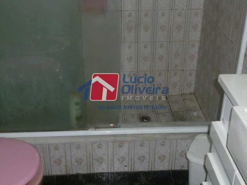 Banheiro. - Apartamento à venda Rua Vilela Tavares,Méier, Rio de Janeiro - R$ 270.000 - VPAP21662 - 15