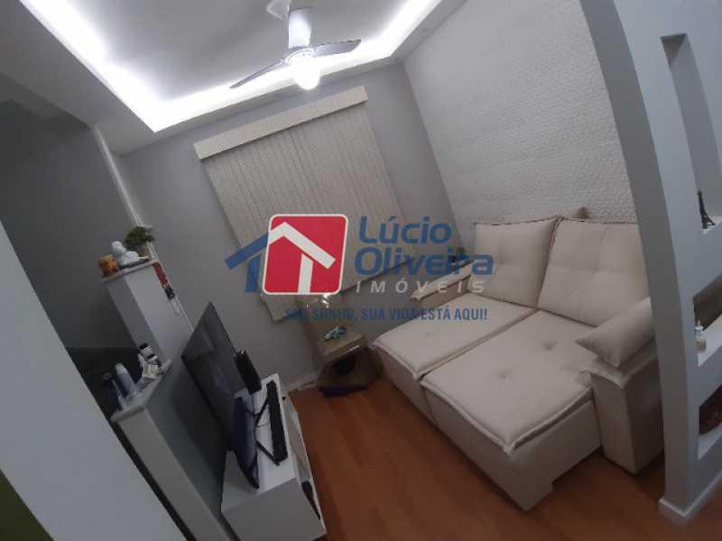4- Sala estar - Casa de Vila à venda Rua Matias Aires,Engenho Novo, Rio de Janeiro - R$ 290.000 - VPCV20072 - 5