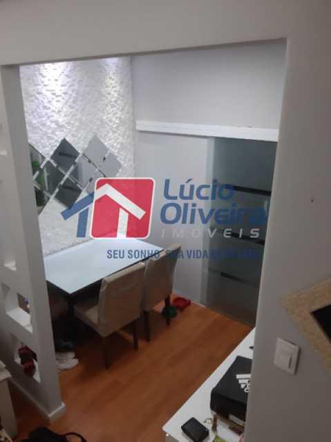 8- Sala jantar - Casa de Vila à venda Rua Matias Aires,Engenho Novo, Rio de Janeiro - R$ 290.000 - VPCV20072 - 7