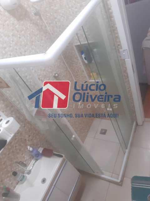 15-Banheiro social blindex - Casa de Vila à venda Rua Matias Aires,Engenho Novo, Rio de Janeiro - R$ 290.000 - VPCV20072 - 14