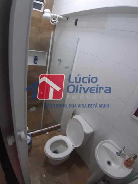 17-Banheiro social - Casa de Vila à venda Rua Matias Aires,Engenho Novo, Rio de Janeiro - R$ 290.000 - VPCV20072 - 16
