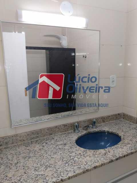 Banheiro. - Apartamento à venda Rua Medina,Méier, Rio de Janeiro - R$ 265.000 - VPAP21664 - 12