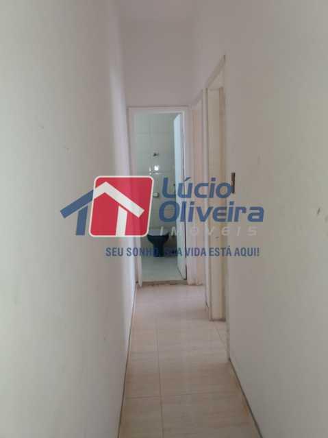 Corredor - Apartamento à venda Rua Medina,Méier, Rio de Janeiro - R$ 265.000 - VPAP21664 - 8
