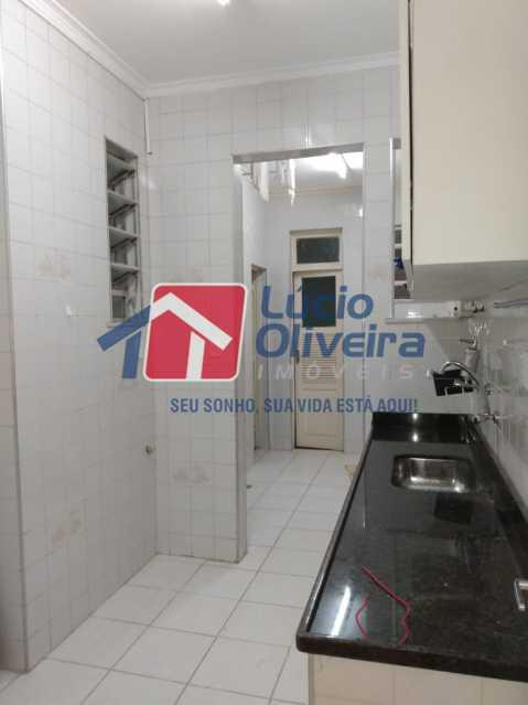 Cozinha e área - Apartamento à venda Rua Medina,Méier, Rio de Janeiro - R$ 265.000 - VPAP21664 - 17