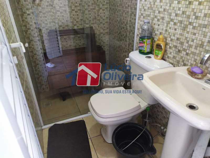 Banheiro terraço - Apartamento à venda Avenida Monsenhor Félix,Vaz Lobo, Rio de Janeiro - R$ 285.000 - VPAP30423 - 11