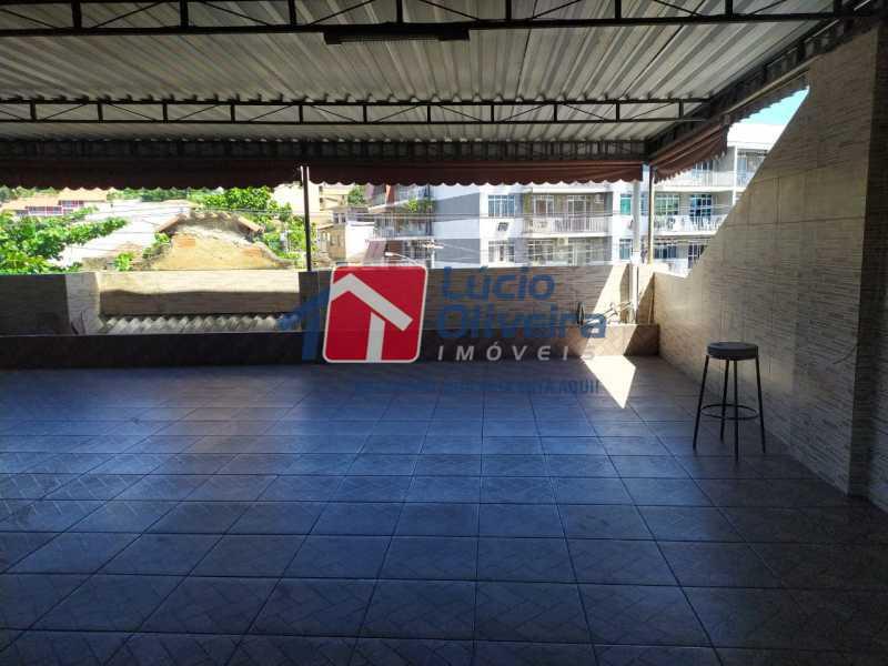 Terraço. - Apartamento à venda Avenida Monsenhor Félix,Vaz Lobo, Rio de Janeiro - R$ 285.000 - VPAP30423 - 23