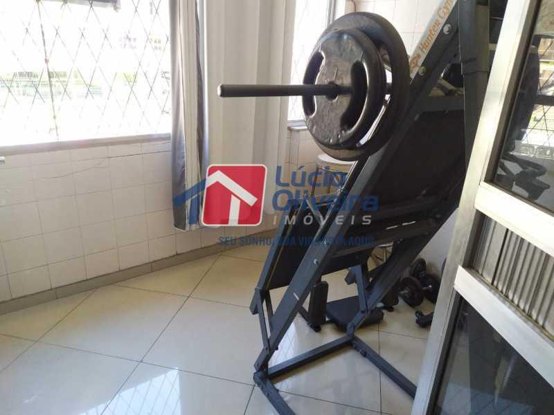 Varanda fechada. - Apartamento à venda Avenida Monsenhor Félix,Vaz Lobo, Rio de Janeiro - R$ 285.000 - VPAP30423 - 24