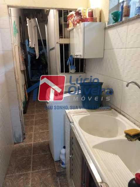area de serviço - Casa 3 quartos à venda Vila da Penha, Rio de Janeiro - R$ 390.000 - VPCA30228 - 8