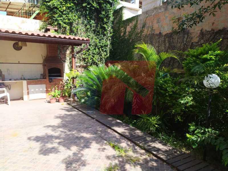 Jardins e àrea gourmet - Casa em Condomínio 3 quartos à venda Irajá, Rio de Janeiro - R$ 685.000 - VPCN30017 - 30