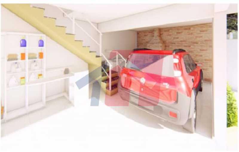 Garagem apto frente - Casa de Vila 2 quartos à venda Colégio, Rio de Janeiro - R$ 189.000 - VPCV20074 - 4