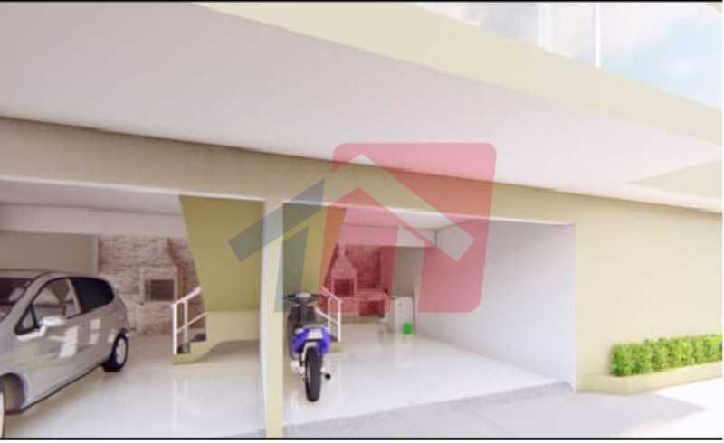 Garagem e área gourmet - Casa de Vila 2 quartos à venda Colégio, Rio de Janeiro - R$ 189.000 - VPCV20074 - 5