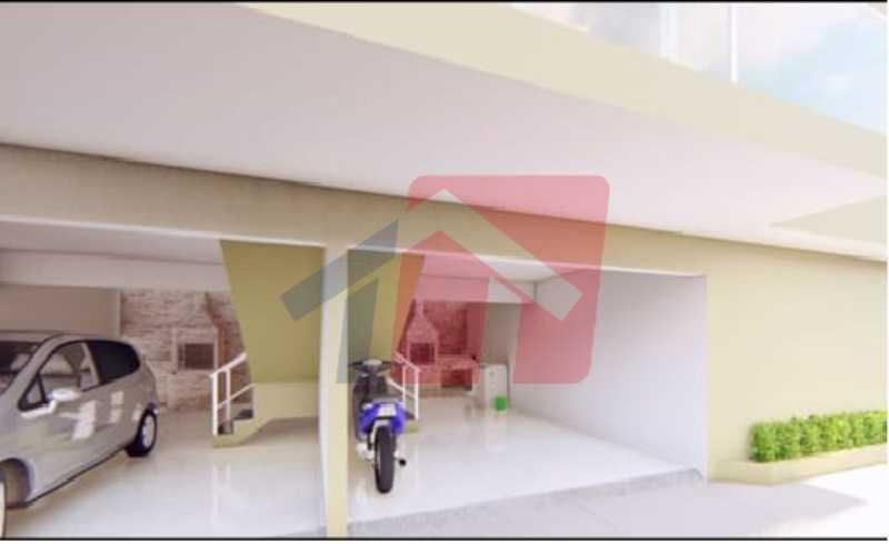 Garagem e área gourmet - Casa de Vila 2 quartos à venda Colégio, Rio de Janeiro - R$ 169.000 - VPCV20075 - 5