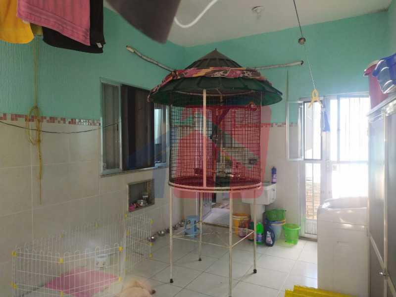 Área interna coberta.. - Casa 2 quartos à venda Vigário Geral, Rio de Janeiro - R$ 245.000 - VPCA20318 - 13