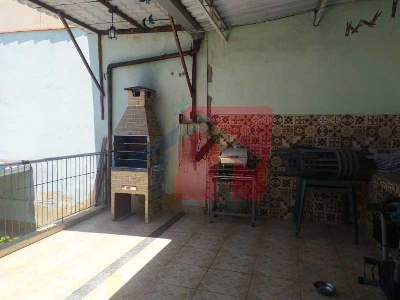 Terraço área gourmet - Casa 2 quartos à venda Vigário Geral, Rio de Janeiro - R$ 245.000 - VPCA20318 - 21