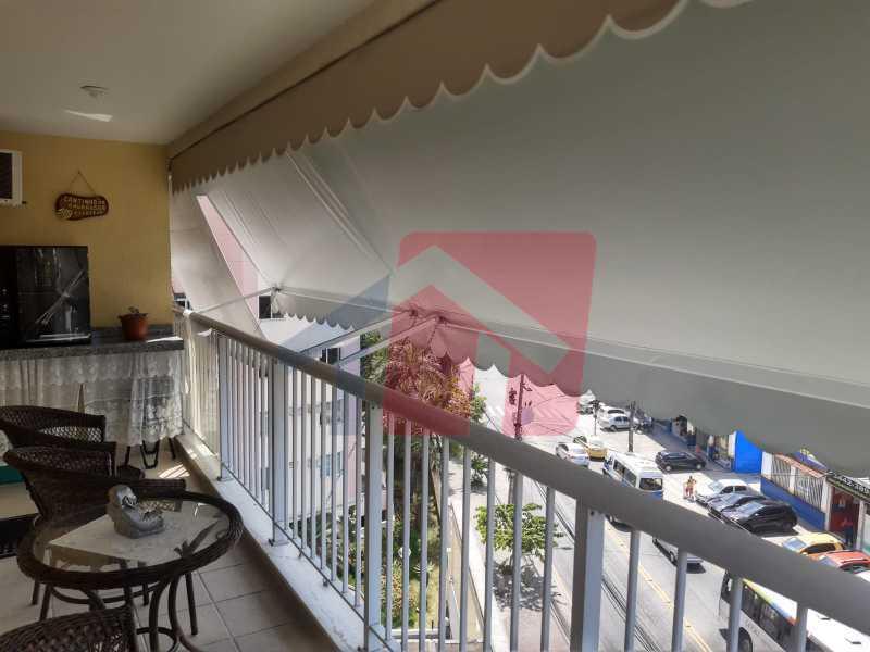 Varanda. - Apartamento 2 quartos à venda Taquara, Rio de Janeiro - R$ 380.000 - VPAP21680 - 5