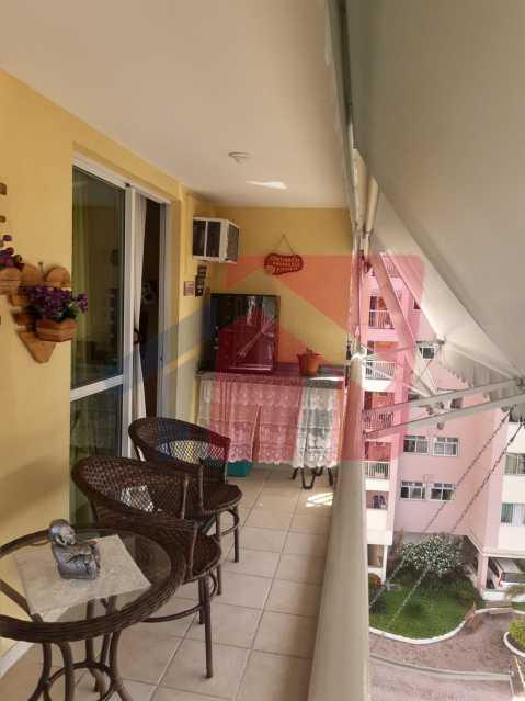 Varanda - Apartamento 2 quartos à venda Taquara, Rio de Janeiro - R$ 380.000 - VPAP21680 - 6