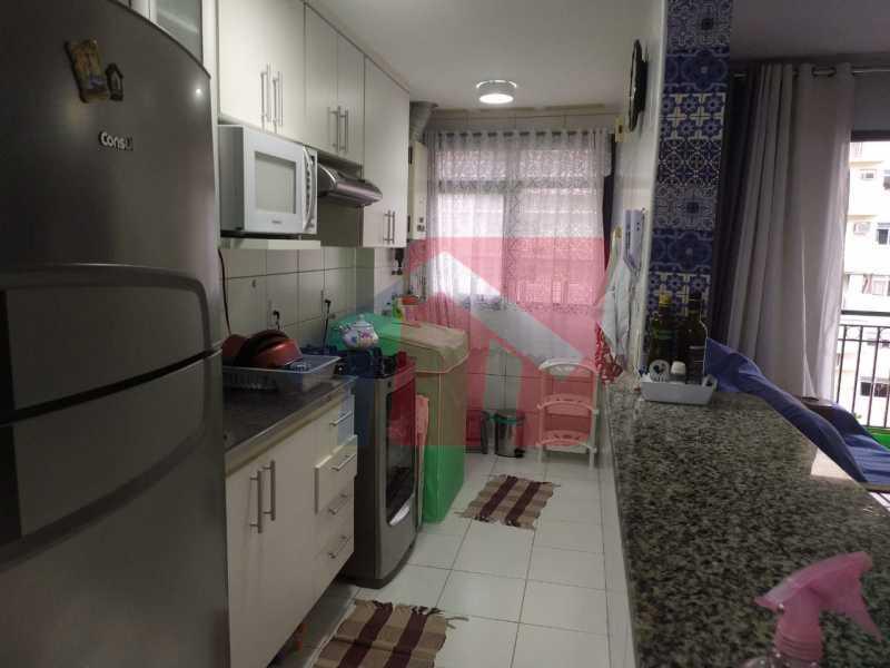 Cozinha. - Apartamento 2 quartos à venda São Cristóvão, Rio de Janeiro - R$ 500.000 - VPAP21689 - 19