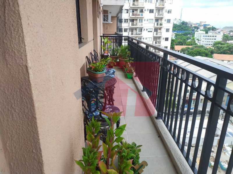 Varanda - Apartamento 2 quartos à venda São Cristóvão, Rio de Janeiro - R$ 500.000 - VPAP21689 - 6