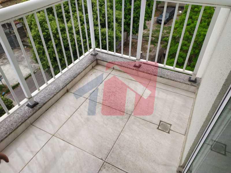 Varanda. - Apartamento 2 quartos à venda Cordovil, Rio de Janeiro - R$ 195.000 - VPAP21702 - 8