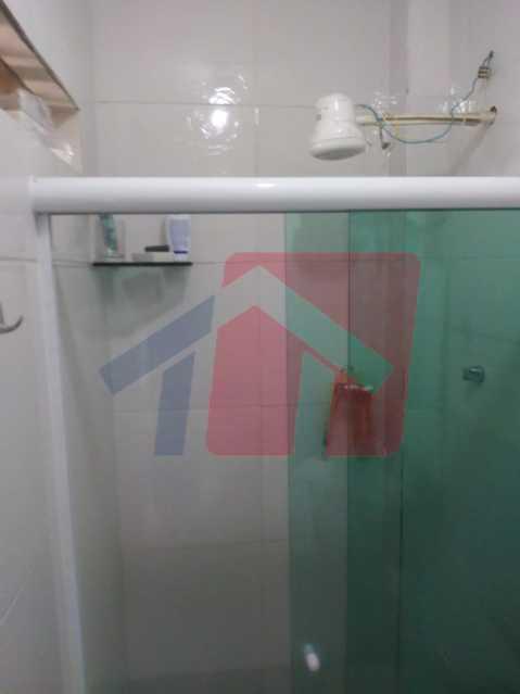 banheiro empregada - Casa toda moderna e acochegante, compposta por dois quartos, cozinha ampla, banheiro social com blindex, área de serviço com banheiro, sala ampla, varanda com boa localização - VPAP21709 - 6