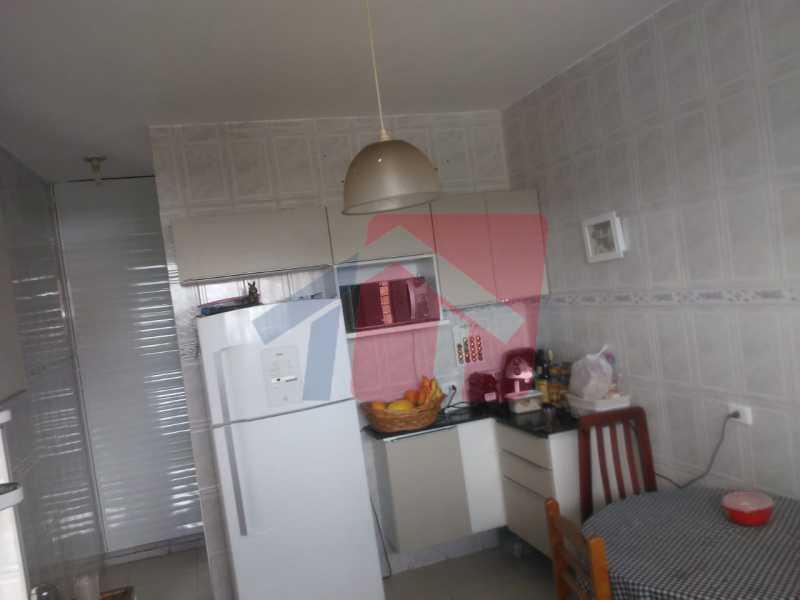 cozin ha - Casa toda moderna e acochegante, compposta por dois quartos, cozinha ampla, banheiro social com blindex, área de serviço com banheiro, sala ampla, varanda com boa localização - VPAP21709 - 9