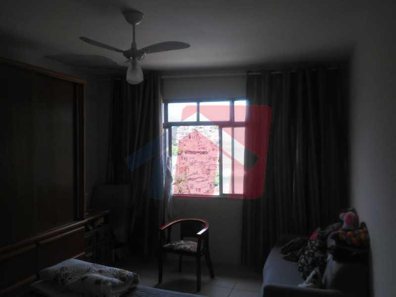 quarto menor - Casa toda moderna e acochegante, compposta por dois quartos, cozinha ampla, banheiro social com blindex, área de serviço com banheiro, sala ampla, varanda com boa localização - VPAP21709 - 18