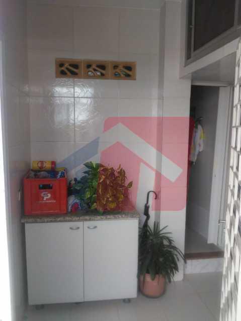 viço 2 - Casa toda moderna e acochegante, compposta por dois quartos, cozinha ampla, banheiro social com blindex, área de serviço com banheiro, sala ampla, varanda com boa localização - VPAP21709 - 24