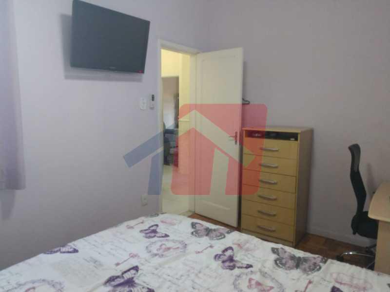 Quarto 1 - Ótimo apartamento em madureira de fundos e um local extremamente calmo, sem barulho composto de sala, corredos dos quartos, cozinha, banheiro social, área de serviço - VPAP21713 - 11