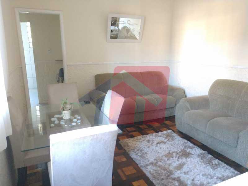 Sala - Ótimo apartamento em madureira de fundos e um local extremamente calmo, sem barulho composto de sala, corredos dos quartos, cozinha, banheiro social, área de serviço - VPAP21713 - 4