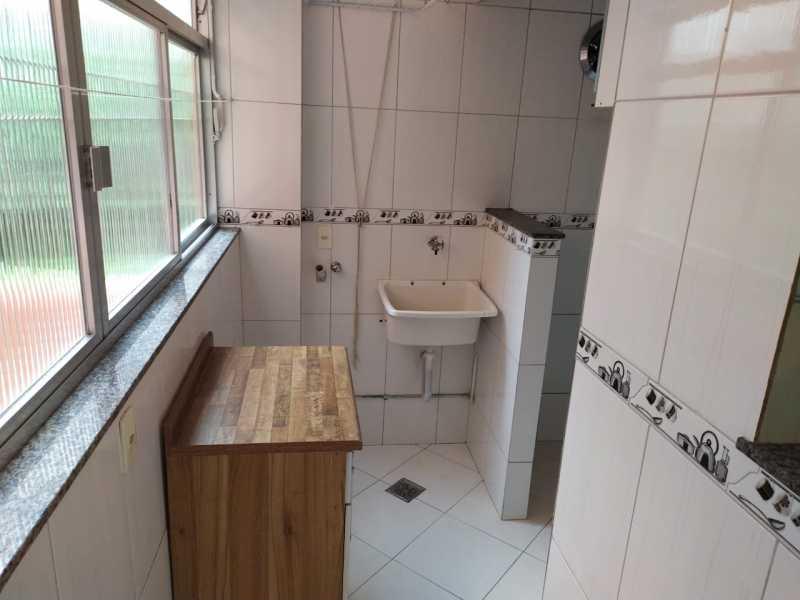 Área de serviço - Apartamento 2 quartos para alugar Vaz Lobo, Rio de Janeiro - R$ 850 - VPAP21717 - 24