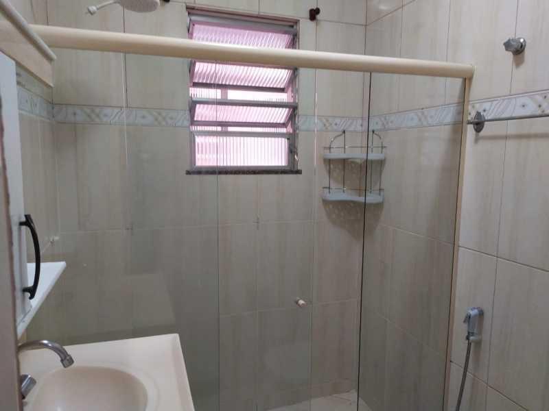 Banheiro social.. - Apartamento 2 quartos para alugar Vaz Lobo, Rio de Janeiro - R$ 850 - VPAP21717 - 7