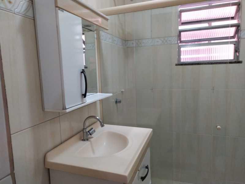 Banheiro social - Apartamento 2 quartos para alugar Vaz Lobo, Rio de Janeiro - R$ 850 - VPAP21717 - 8