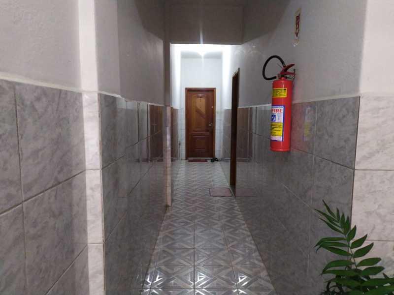 Entrada apartamento - Apartamento 2 quartos para alugar Vaz Lobo, Rio de Janeiro - R$ 850 - VPAP21717 - 26