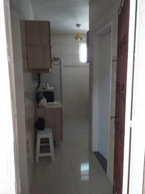 17 - Cozinha - Casa Linear em exelente estado de conservação, compposto de sala ambientes, com piso em porcelanato , 3 dormitorios , sendo uma suite, suite toda azulejada, banheiro social, área, estrutura para construção de terraço. - VPCA30232 - 18