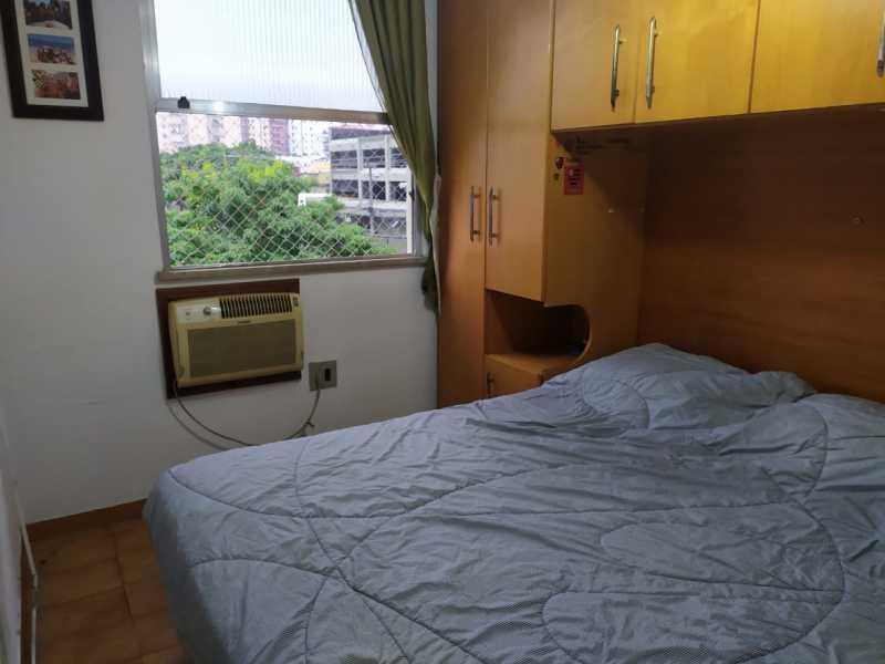 7-Quarto casal  com armarios - Apartamento 3 quartos à venda Cachambi, Rio de Janeiro - R$ 210.000 - VPAP30440 - 8