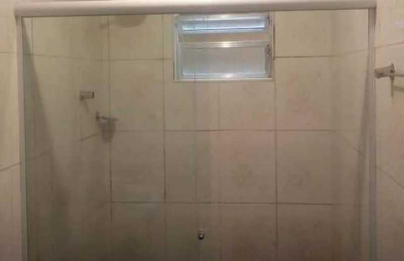banheiro - Exelente apartamento tipo casa, dentro de vila, ambiente familiar e seguro, composto por 2 quartos, sala ampla, cozinha, banheiro social, proximo a comercio, acesso facil a trasporte. - VPAP21723 - 9